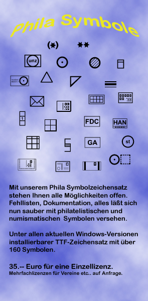 Philatelistische Symbole